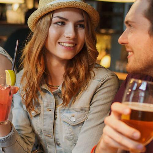 Ölprovning på olika pubs